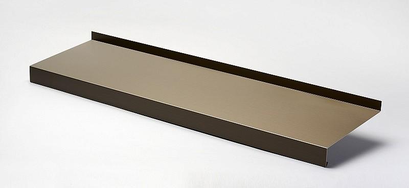 appuis de fen tres en aluminium courb s nez 40 mm appui de fen tre. Black Bedroom Furniture Sets. Home Design Ideas